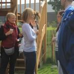 Inauguration d'Animal behaviour center, Julie Willems, comportementaliste chien