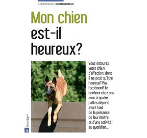 Un chien heureux, document écrit par Julie Willems, comportementaliste du chien sur Bxl