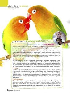 Article rédigé par Julie Willems, comportementaliste pour perroquets