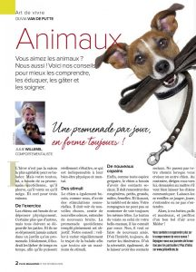 Article rédigé par Julie Willems, comportementaliste chiens de Auderghem