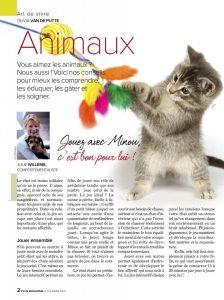 Article rédigé par Julie Willems, comportementaliste pour chats Auderghem