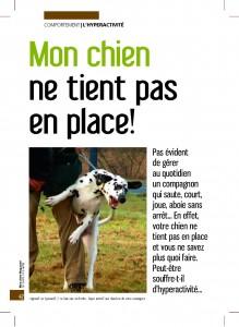Il ne tient pas en place - Mon chien magazine - Décembre 2009_Page_1