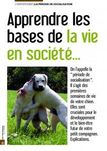La période de sociabilisation - Mon chien magazine - Mai 2010_Page_1
