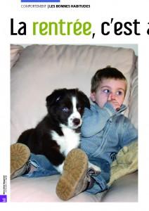 Le retour des vacances - Mon chien magazine - Septembre 2011 bd_Page_1
