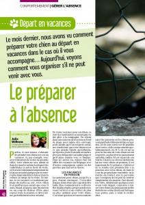 On part sans lui - Mon chien magazine - Juillet 2011_Page_1