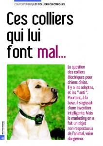 Pour ou contre les colliers électriques - Mon chien magazine - Juillet 2010_Page_1