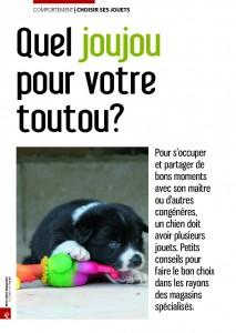Quel joujou pour votre toutou - Mon chien magazine - Octobre 2010_Page_1