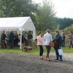 Inauguration d'Animal behaviour center, Julie Willems, comportementaliste pour chien