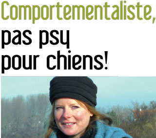 Comportementaliste pour chiens, interview de Julie Willems, comportementaliste chiens Bxl