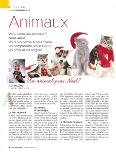 Offrir un animal en cadeau, document rédigé par Julie Willems, comportementaliste chiens et chats Bxl
