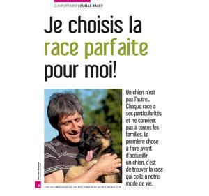Choix de la race de chien, document écrit par Julie Willems, comportementaliste chien Bxl