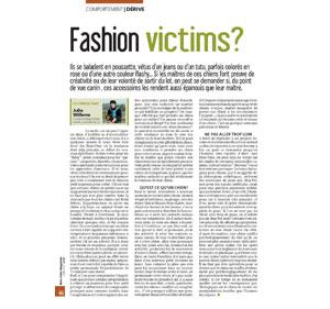 Les chiens et la mode, document écrit par Julie Willems, comportementaliste pour chiens sur Bruxelles