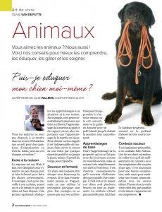 éducation chien, Articlé écrit par Julie Willems, éthologue-comportementaliste canin