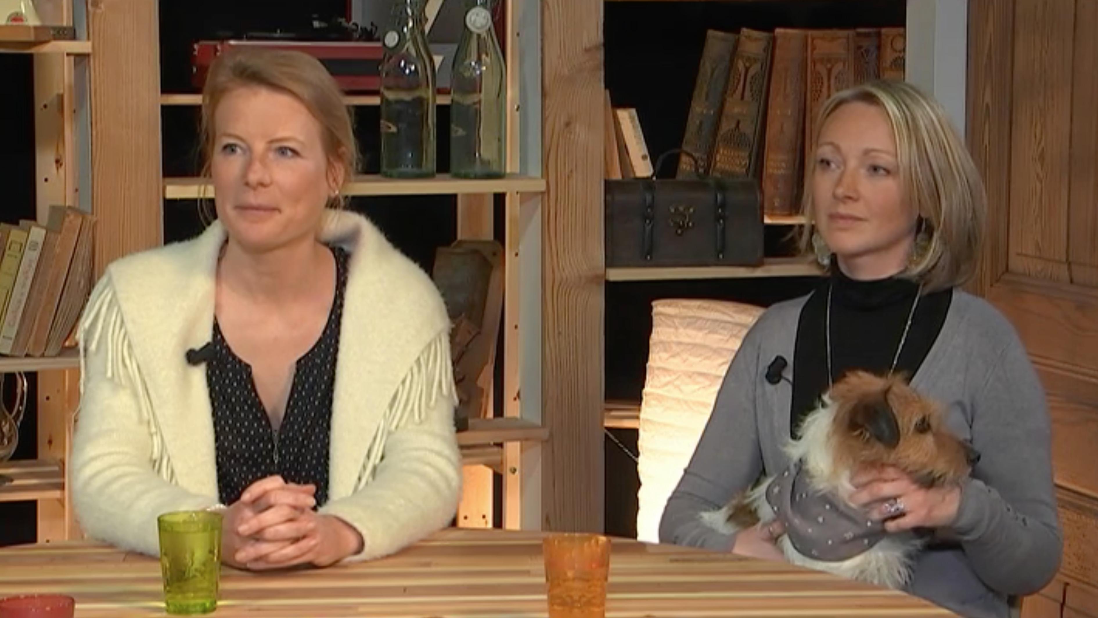 Emission Canal et compagnie avec Julie Willems, comportementaliste canin