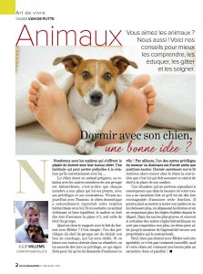 Dormir avec son chien, Article rédigé par Julie Willems, comportementaliste canin