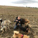 Balade canine organisée par Julie Willems, comportementaliste pour chiens