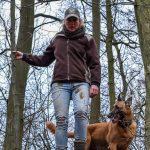 notre comportementaliste et son chien
