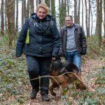 Promeneurs en balade canine avec Julie Willems