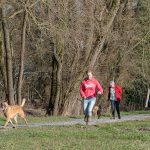 maître en promenade avec Julie Willems