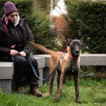 Maître et son chien