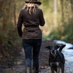 Julie Willems en Balade Canine