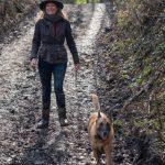 Julie Willems et son chien