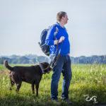 Labrador et son maître